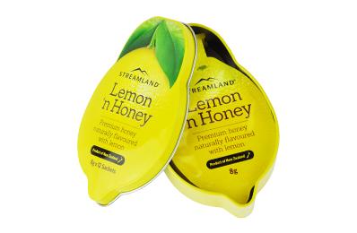 STREAMLAND紐西蘭新溪島 風味蜂蜜隨身盒-檸檬(12入)