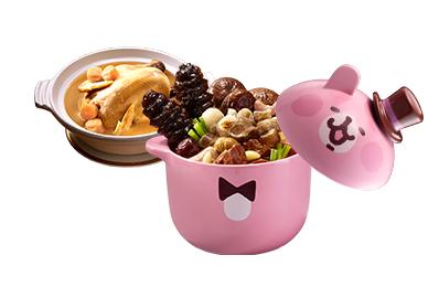 卡娜赫拉的小動物-奇幻魔術佛跳牆(附甕)+干貝熬雞湯(無附砂鍋)
