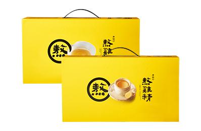 熬雞精禮盒(常溫/14入)+熬雞精禮盒 暖薑口味(常溫/14入)