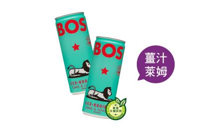 啵獅南非國寶有機冰茶-薑汁萊姆風味(12入)