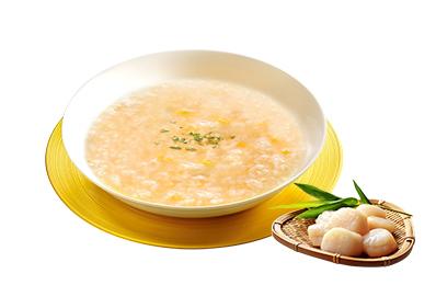 日本北海道頂級熟干貝100g/8粒裝+熬湯粥(6人份)