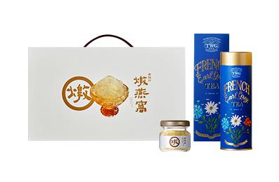 燉燕窩常溫禮盒(6入)2盒【贈TWG TEA 法式伯爵茶緞帶禮盒 / 單罐(附提袋)】