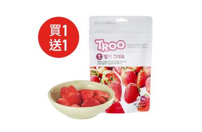 韓國TROO鮮果乾脆片-草莓(6包入)
