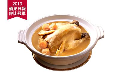 干貝熬雞湯